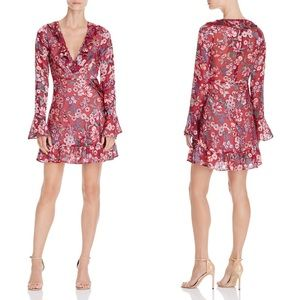 FOR LOVE & LEMONS Gracie Floral Ruffle Dress